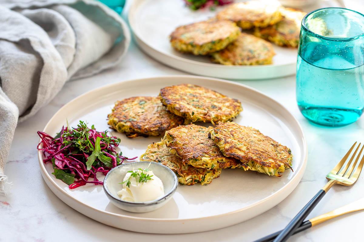 Sellerie-Kartoffel-Rösti mit Kräutern