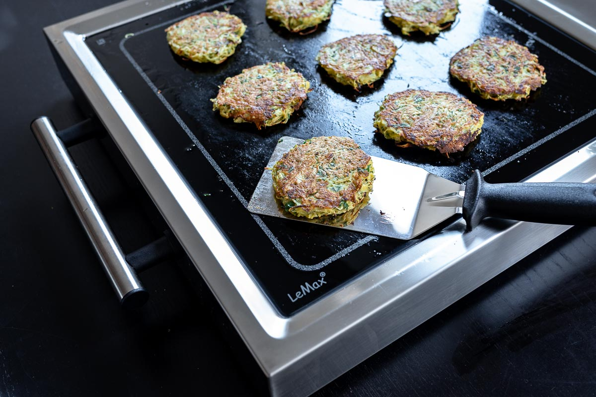 Rösti Rezept kochen mit ELAG Lemax Tischgrill