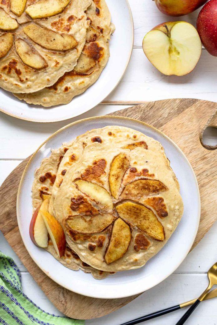 Apfel-Pfannkuchen | Frühstücks Rezept | Elle Republic