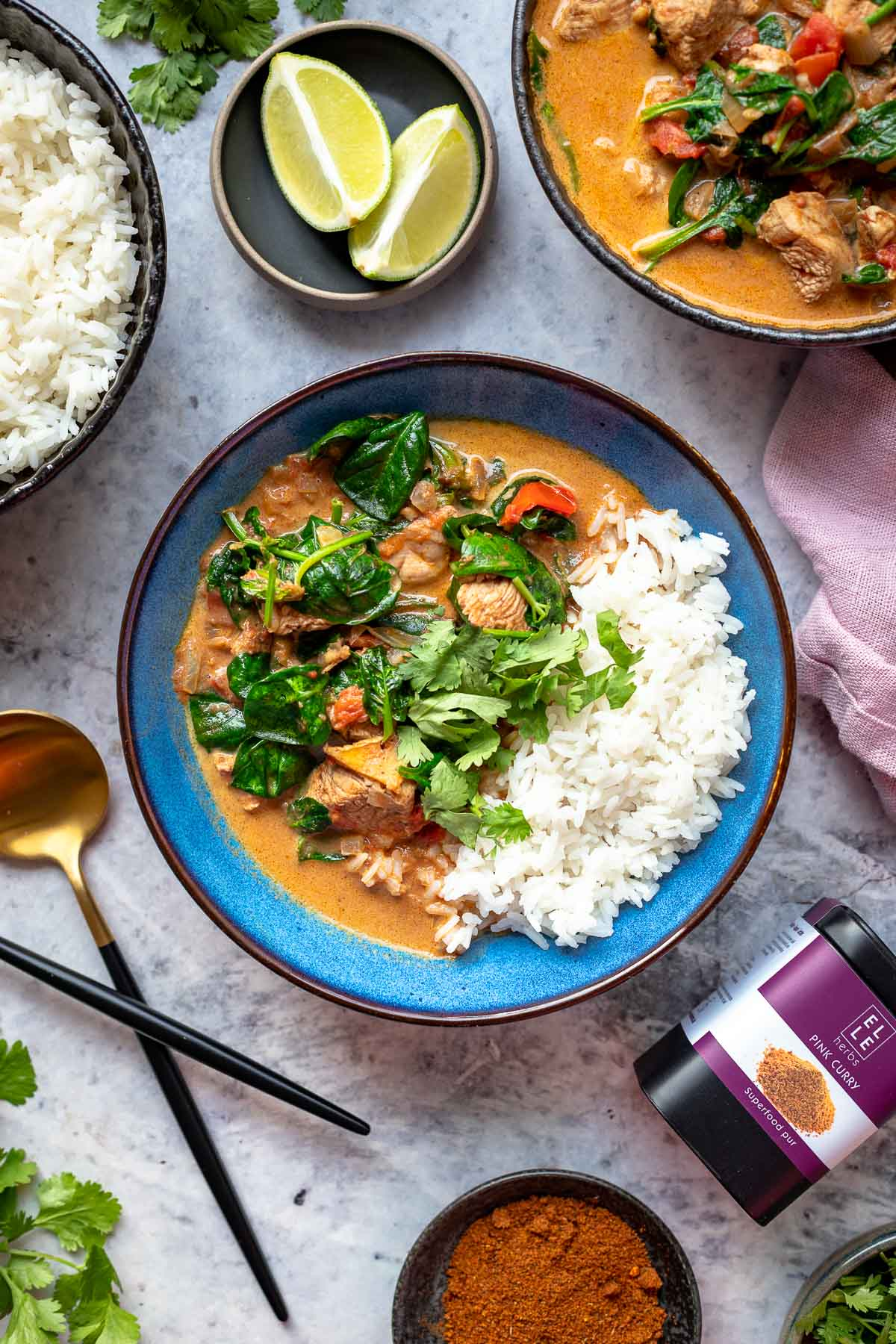 Easy Chicken Curry with Coconut Milk (Mild)