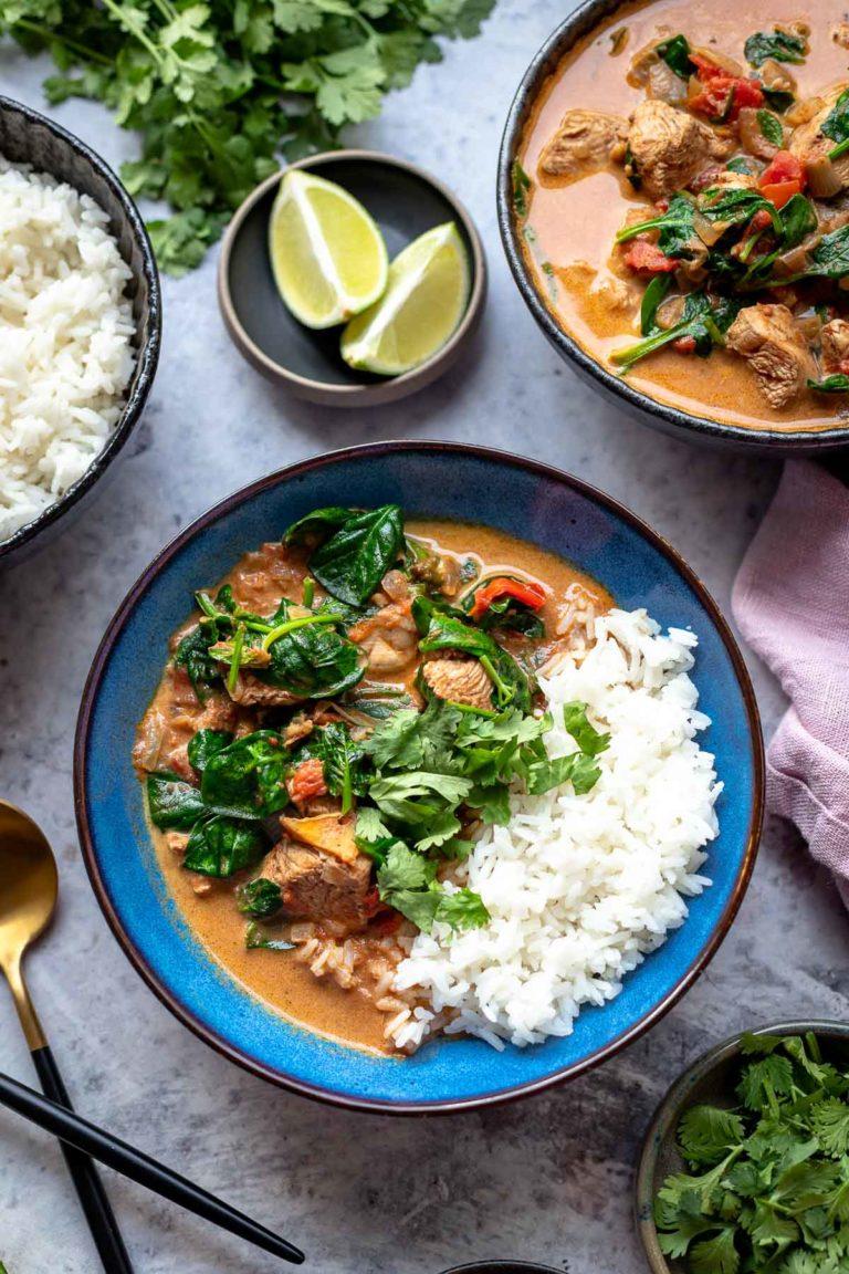 Einfaches Hähnchen Curry (Mild)