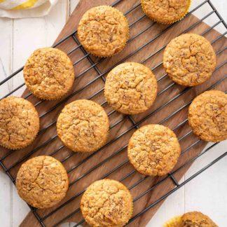 Haferflocken Muffins Oatmeal Frühstücksmuffins Rezept