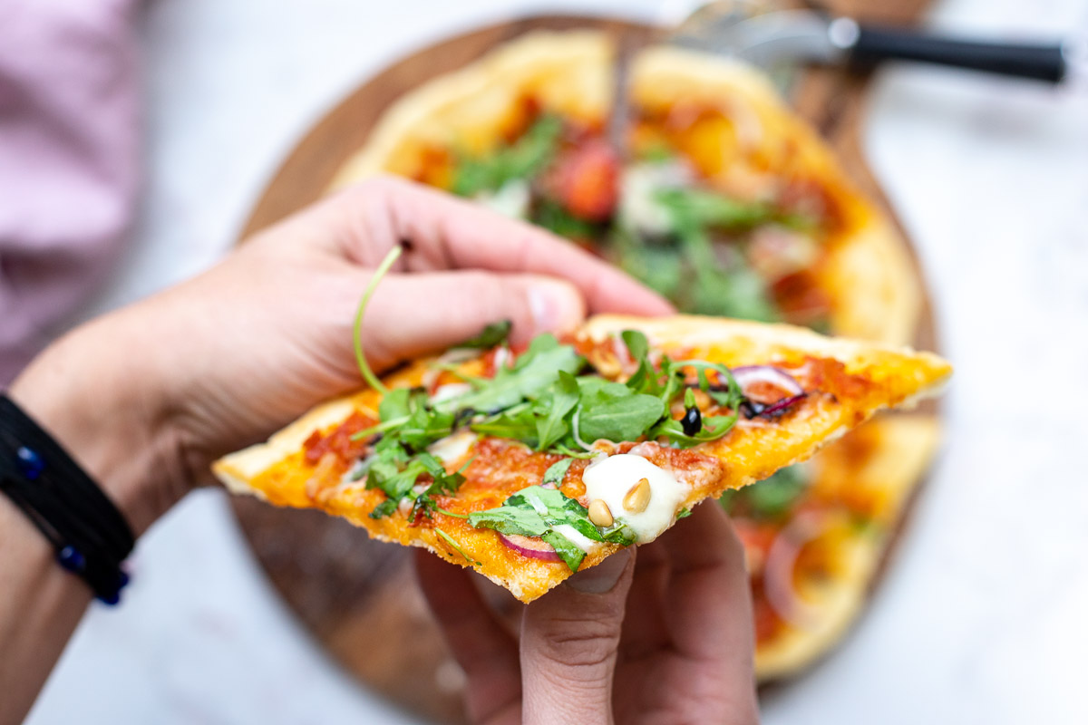 Thin Crust Pizza Dough for Grilling