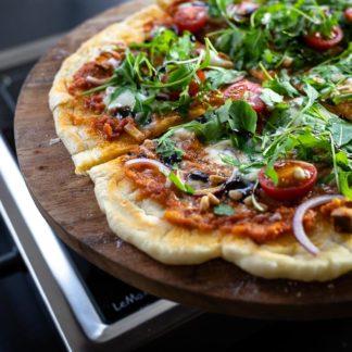 Pizza Grillen mit dem LeMax Elektrogrill