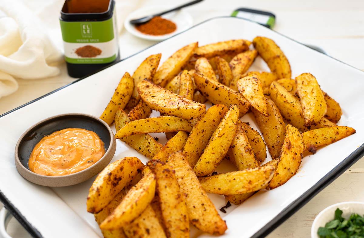 Ofenkartoffeln mit Veggie Spice Elle Herbs Rezept