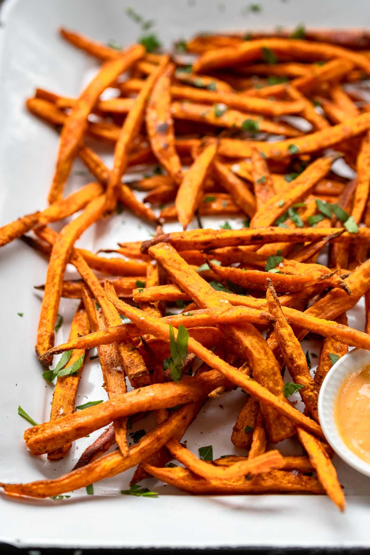 Oven-Baked Sweet Potato Fries | Recipe | Elle Republic