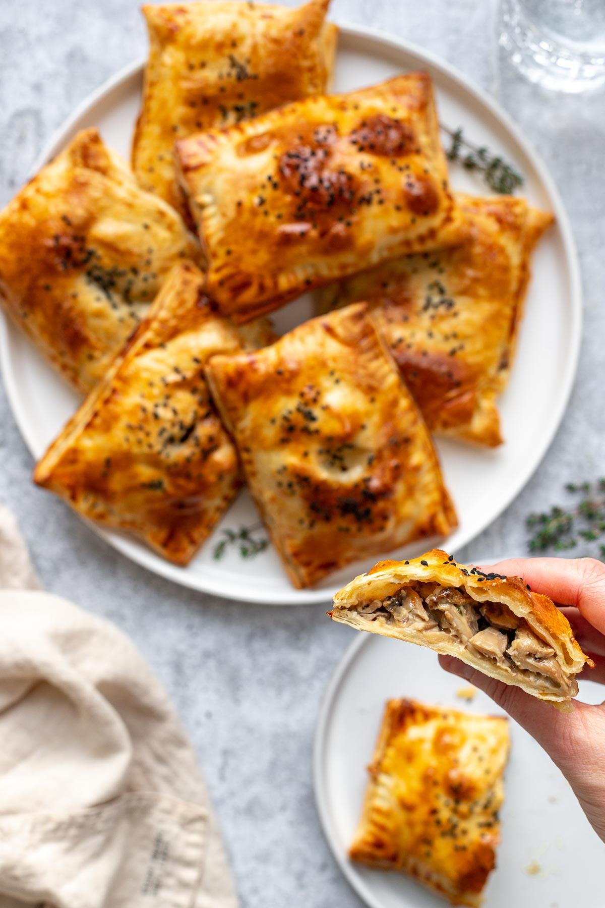 Mushroom Hand Pies