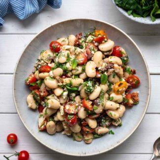 Dicke-Bohnen-Salat nach griechischer Art