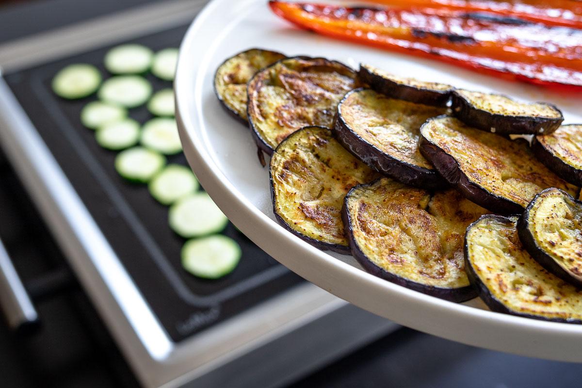 LeMax mit gegrilltem Gemüse