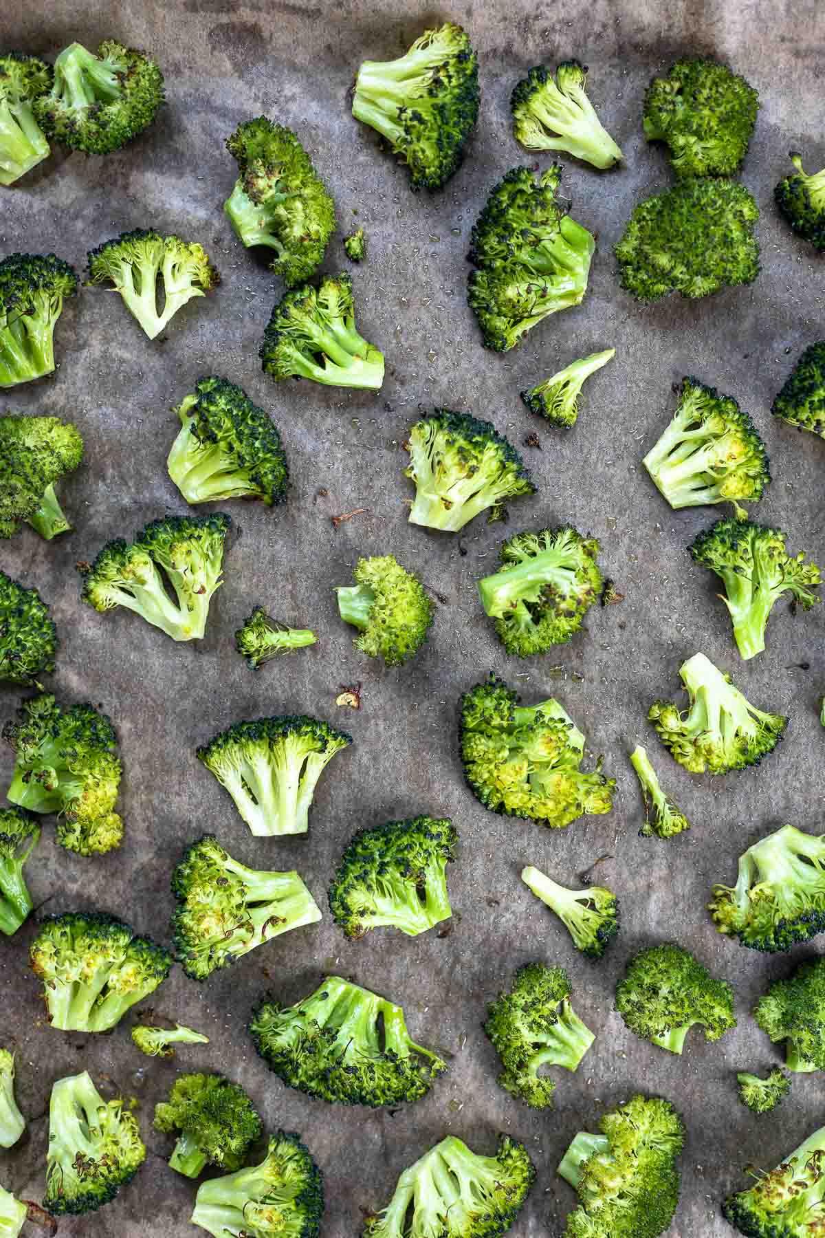 geröstete Brokkoli