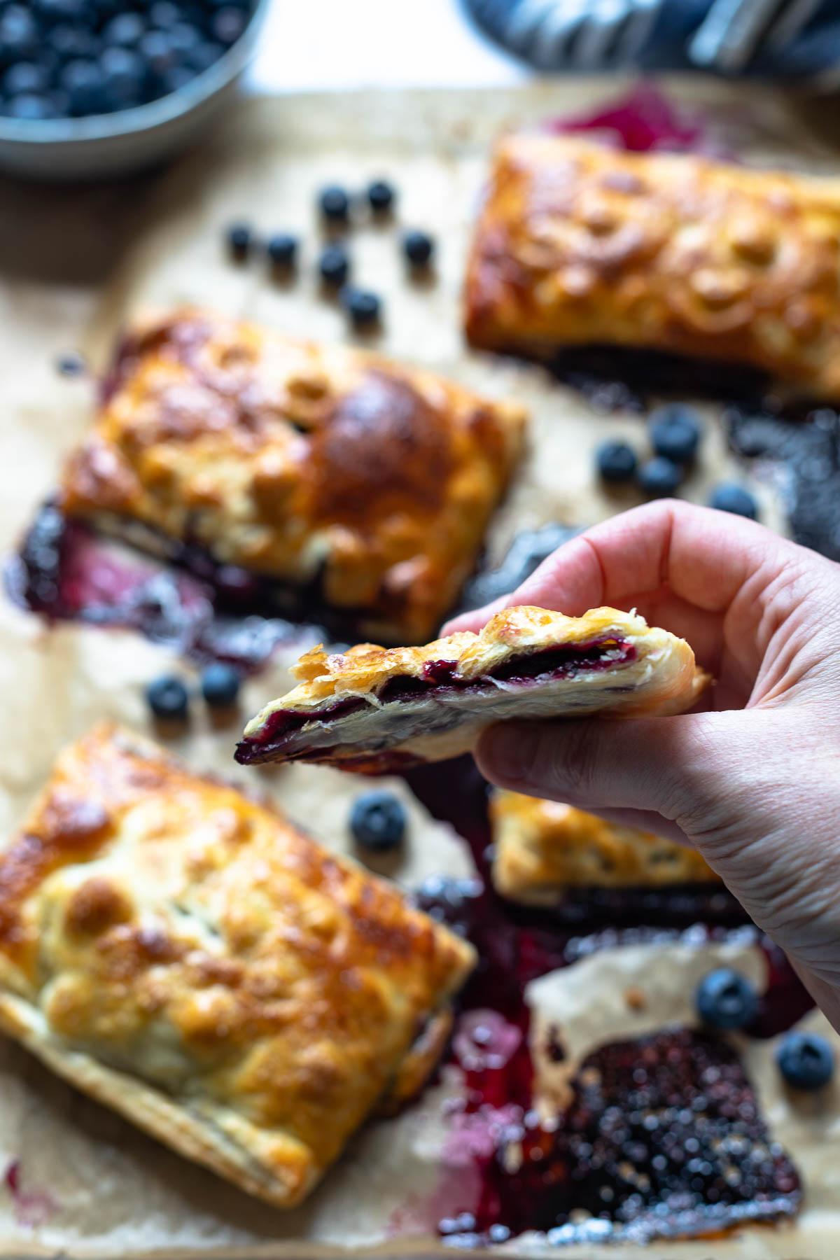 Blueberry Hand Pies Recipe