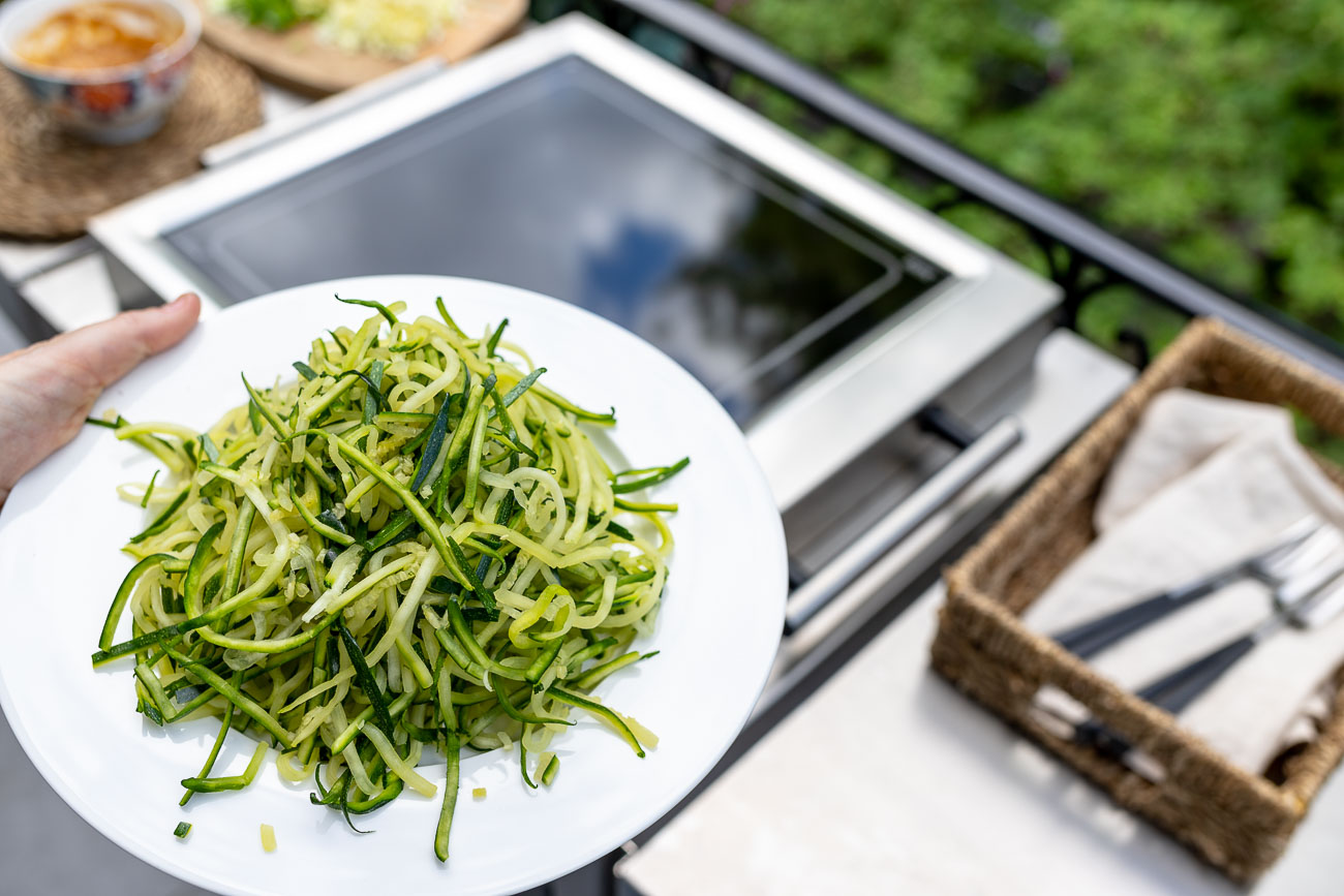 Zucchini Nudeln / Zoodles