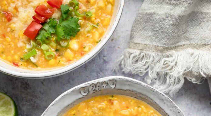 Corn Chowder (Amerikanische Maissuppe) Rezept