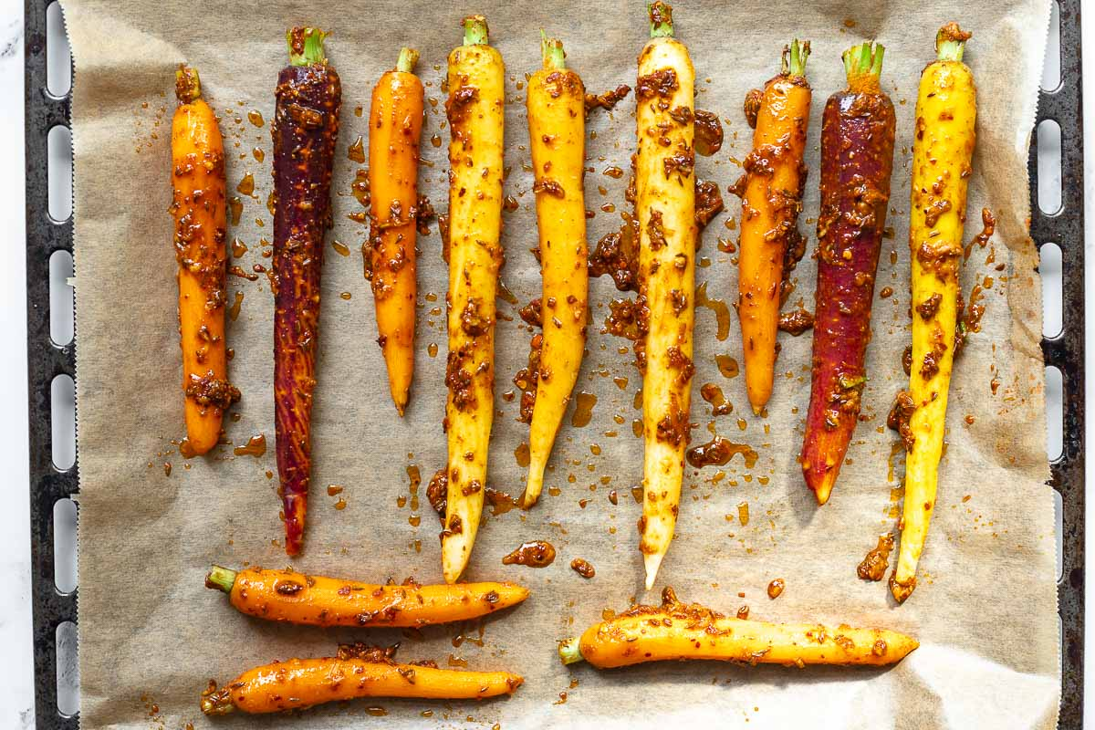 Möhren/Karotten mit Harissa