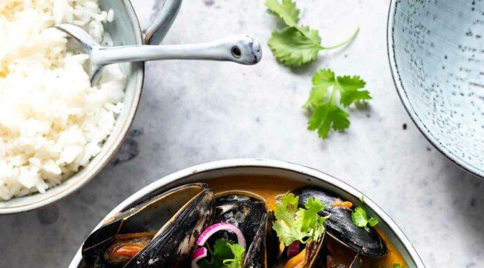 Muscheln in Kokosmilch Curry Sud Rezept